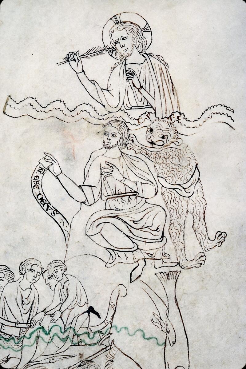Evreux, Bibl. mun., ms. lat. 004, f. 134v - vue 2