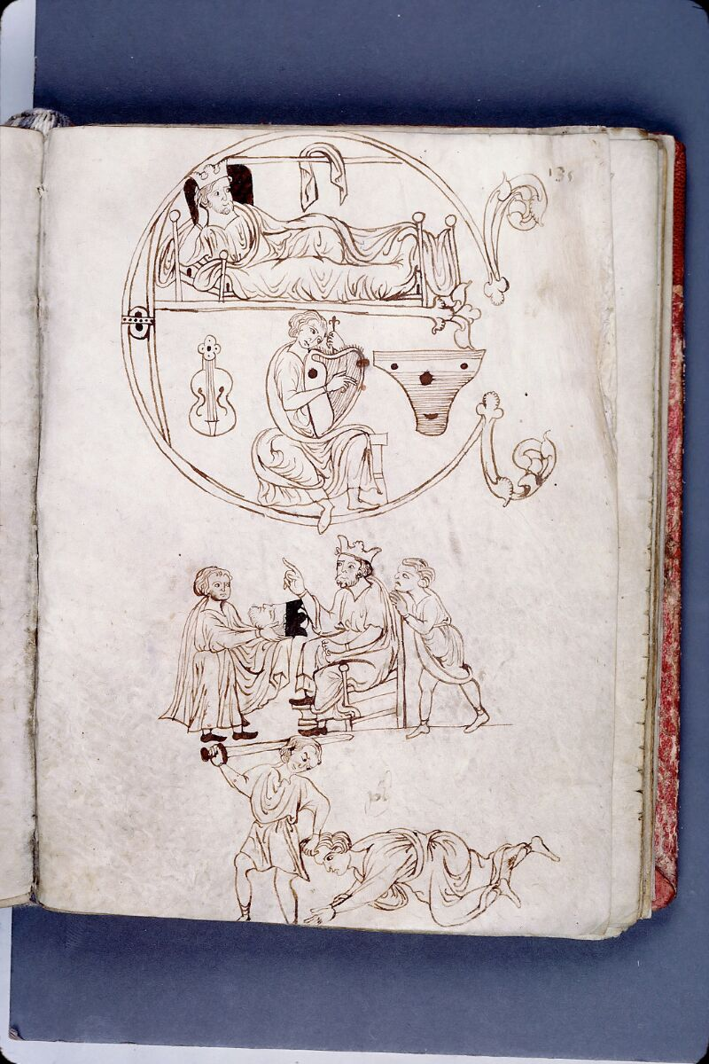Evreux, Bibl. mun., ms. lat. 004, f. 135 - vue 1
