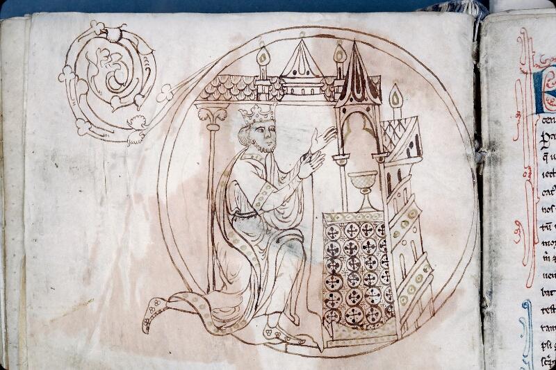 Evreux, Bibl. mun., ms. lat. 004, f. 136v - vue 2