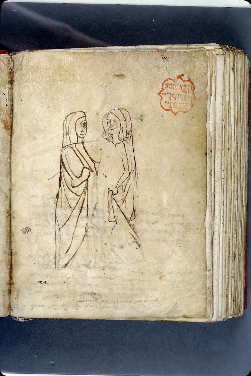 Evreux, Bibl. mun., ms. lat. 004, f. 151v