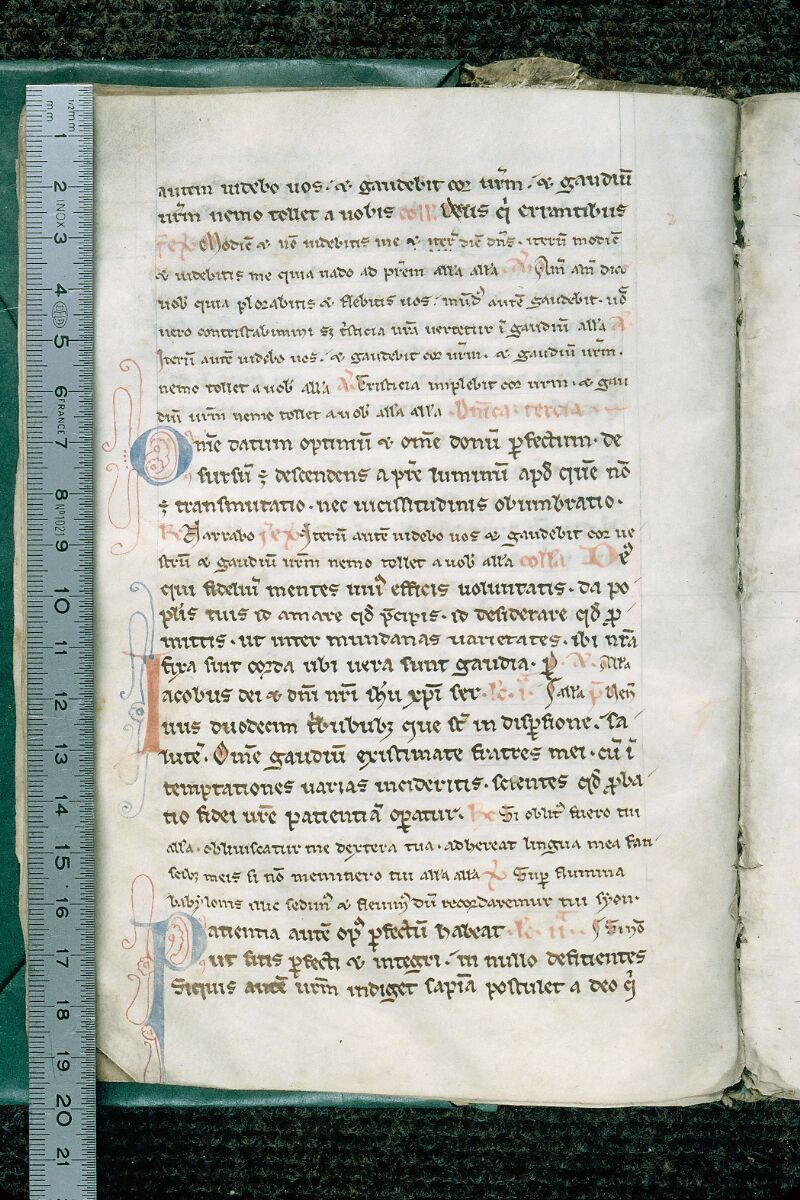 Evreux, Bibl. mun., ms. lat. 031, f. 010v - vue 1