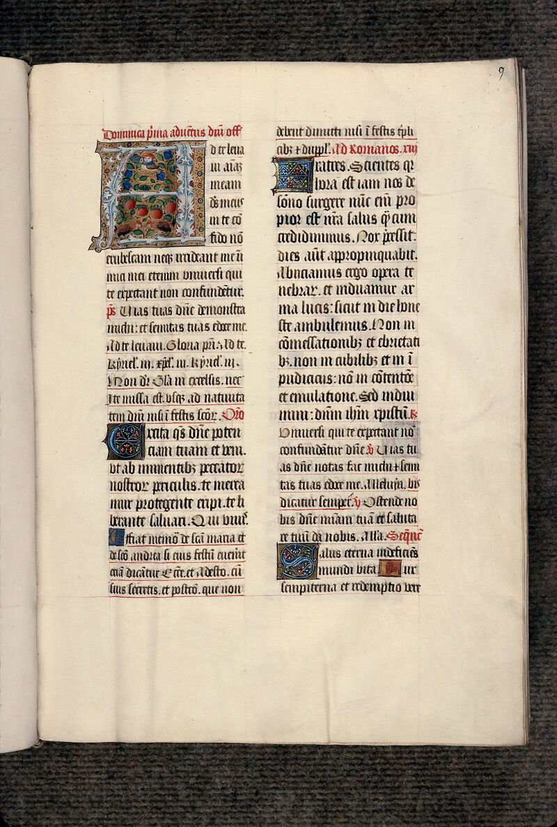 Evreux, Bibl. mun., ms. lat. 098, f. 009 - vue 1