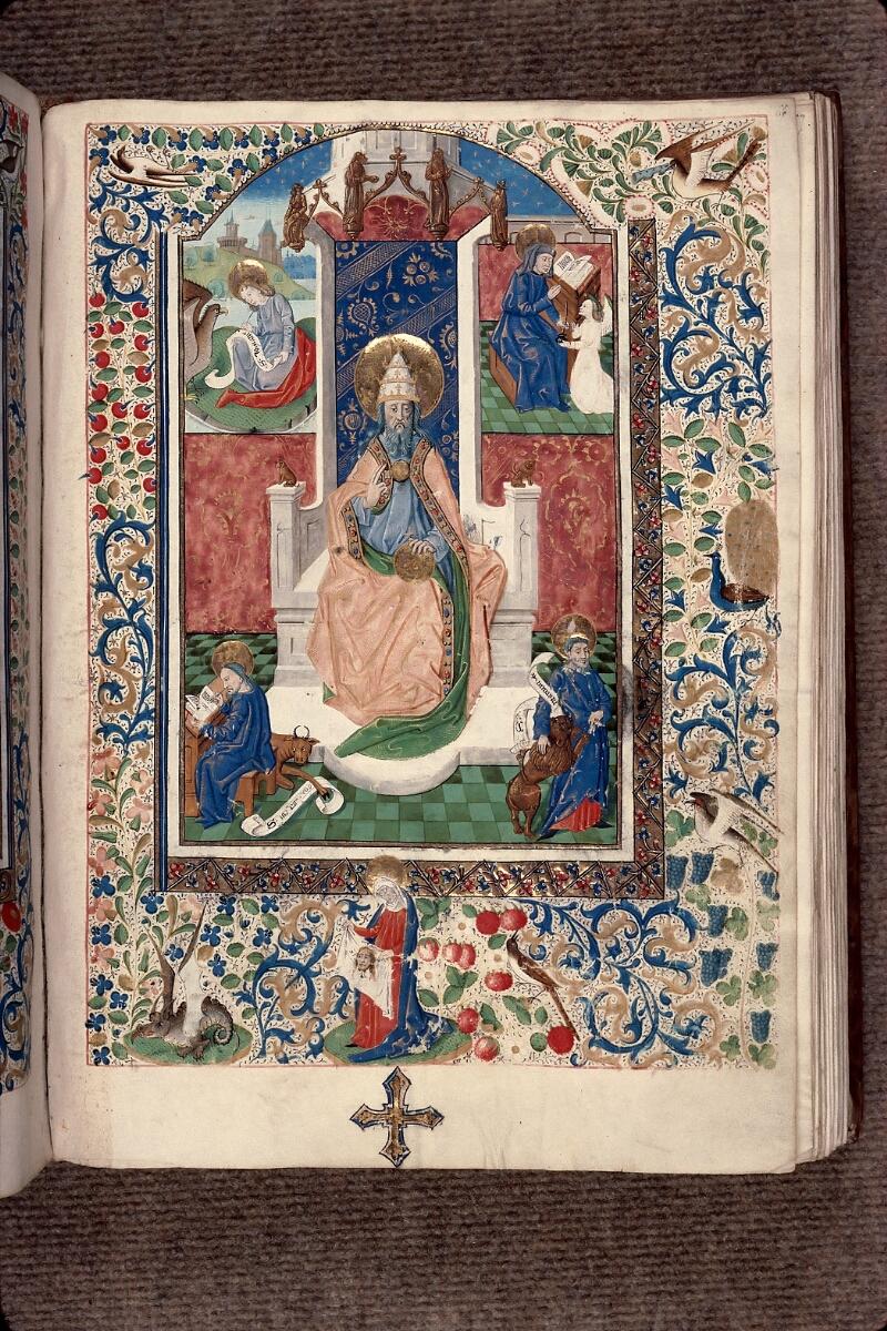 Evreux, Bibl. mun., ms. lat. 098, f. 066 - vue 01
