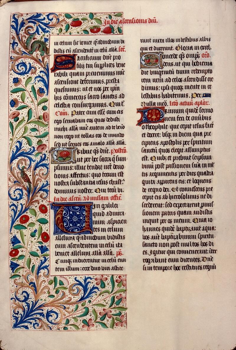 Evreux, Bibl. mun., ms. lat. 099, f. 023v - vue 1