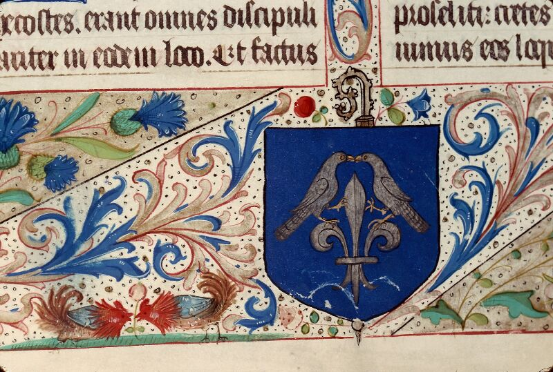 Evreux, Bibl. mun., ms. lat. 099, f. 028v - vue 5