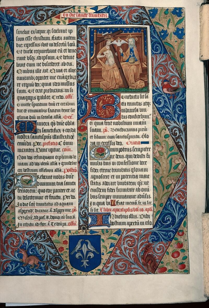 Evreux, Bibl. mun., ms. lat. 099, f. 036 - vue 1