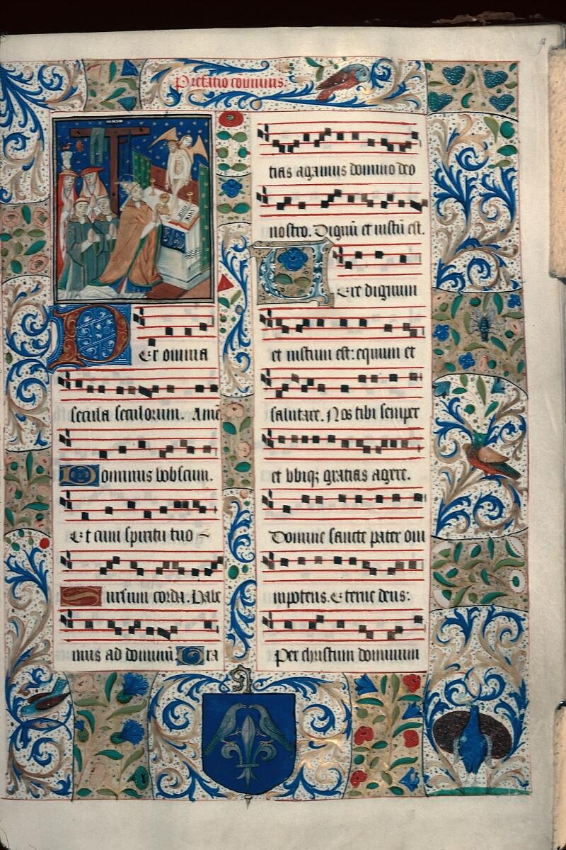 Evreux, Bibl. mun., ms. lat. 099, f. 091 - vue 1