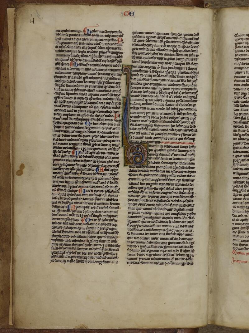 Lisieux, Bibl. mun., ms. 0018, p. 004 - vue 1