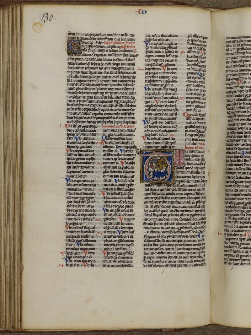 Lisieux, Bibl. mun., ms. 0018, p. 130 - vue 1