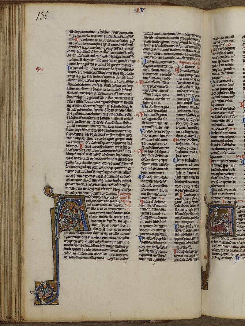 Lisieux, Bibl. mun., ms. 0018, p. 136 - vue 1
