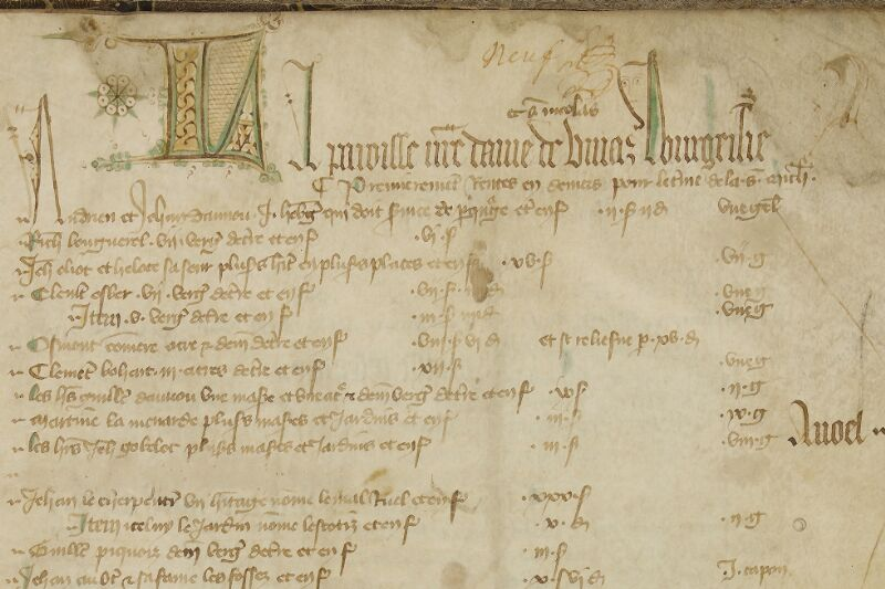 Lisieux, Bibl. mun., ms. 0011, f. 009 - vue 2