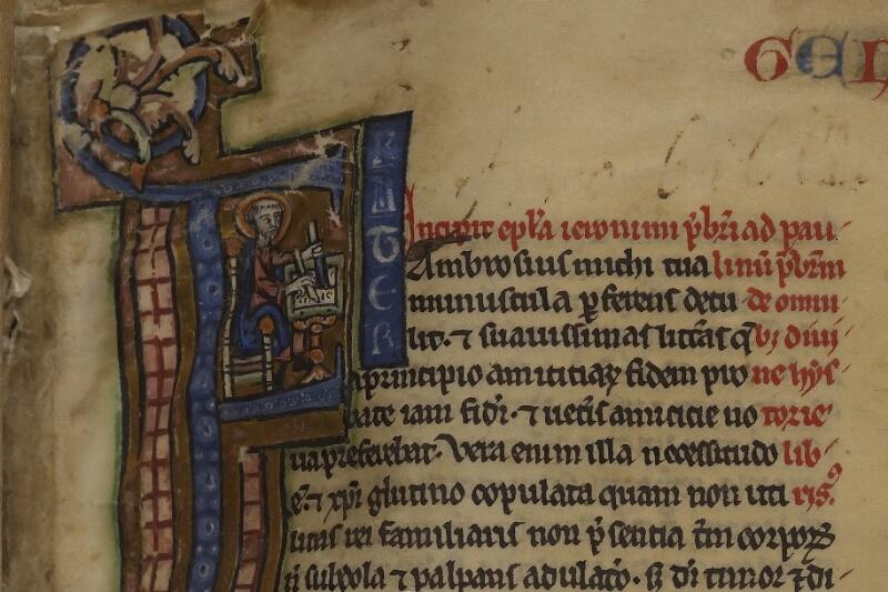 Lisieux, Bibl. mun., ms. 0018, p. 001 - vue 3