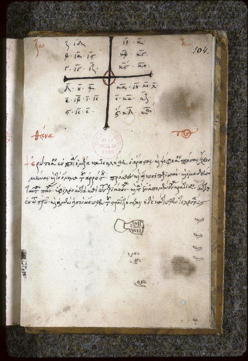 Lyon, Bibl. mun., ms. 0124, f. 104