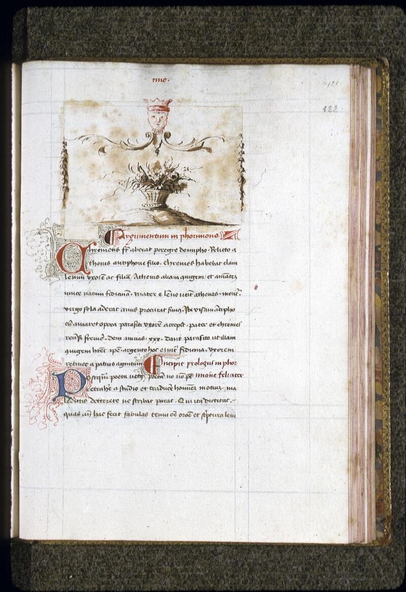 Lyon, Bibl. mun., ms. 0150, f. 122 - vue 1