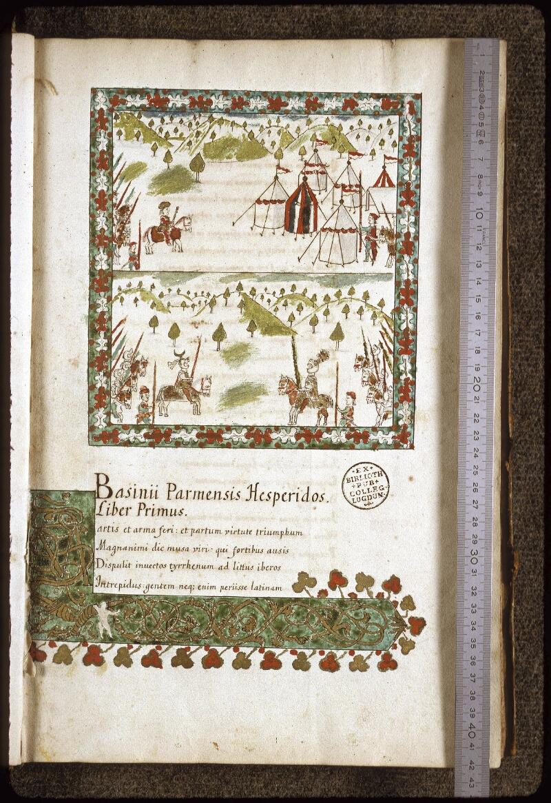Lyon, Bibl. mun., ms. 0154, f. 001 - vue 1