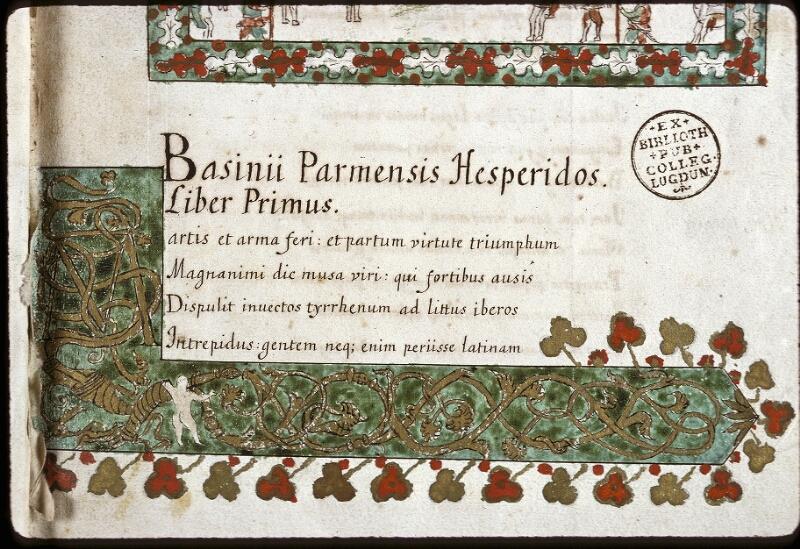 Lyon, Bibl. mun., ms. 0154, f. 001 - vue 6