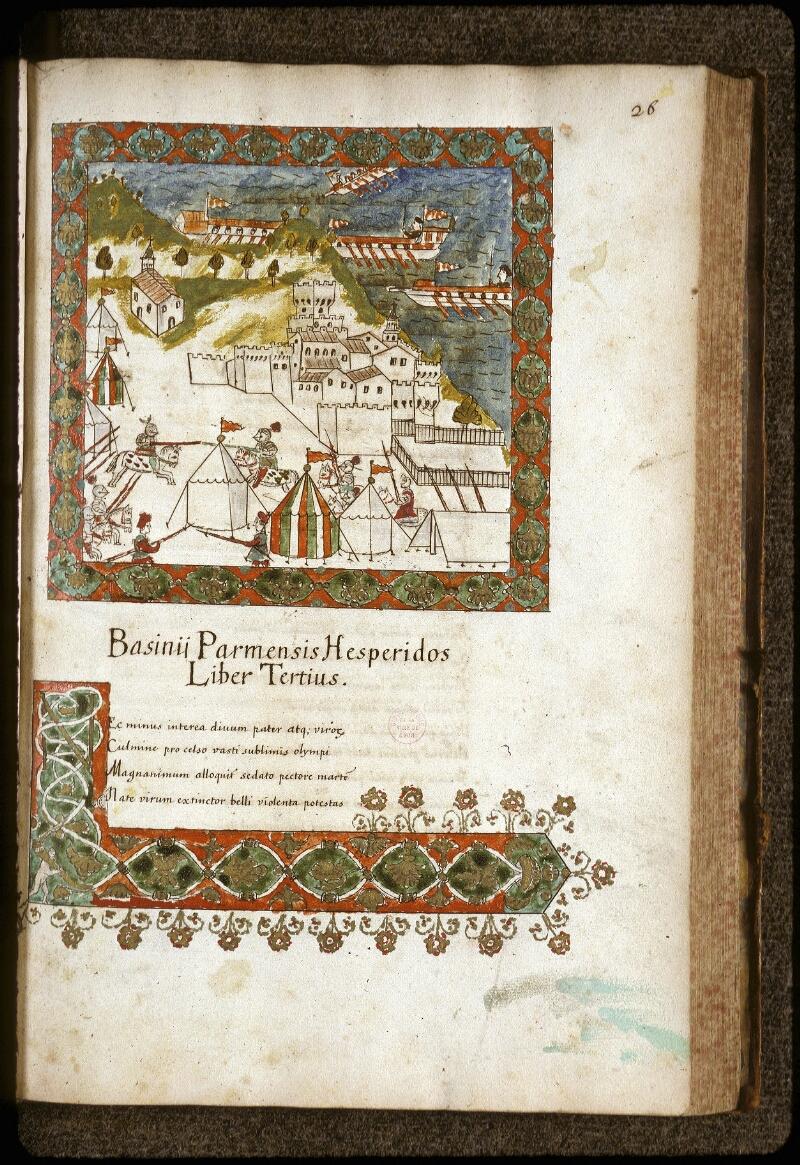 Lyon, Bibl. mun., ms. 0154, f. 026 - vue 1
