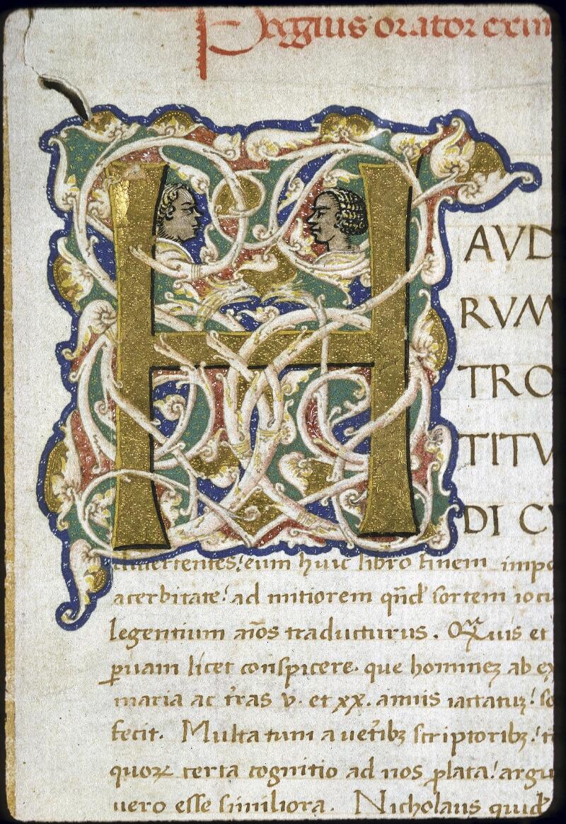 Lyon, Bibl. mun., ms. 0168, f. 001 - vue 3