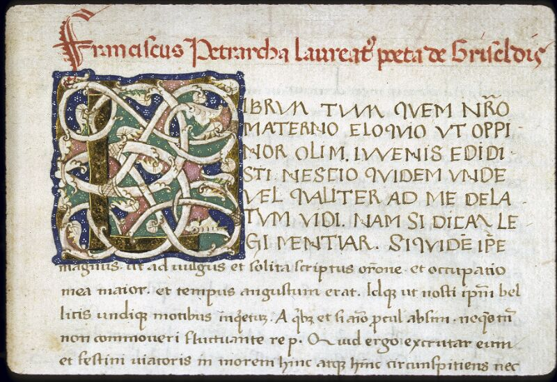 Lyon, Bibl. mun., ms. 0168, f. 137 - vue 2
