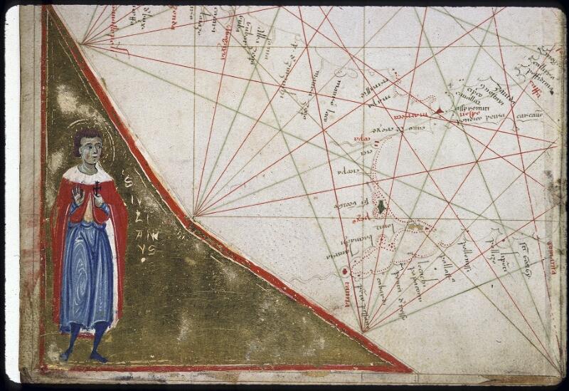 Lyon, Bibl. mun., ms. 0175, carte 3 - vue 3