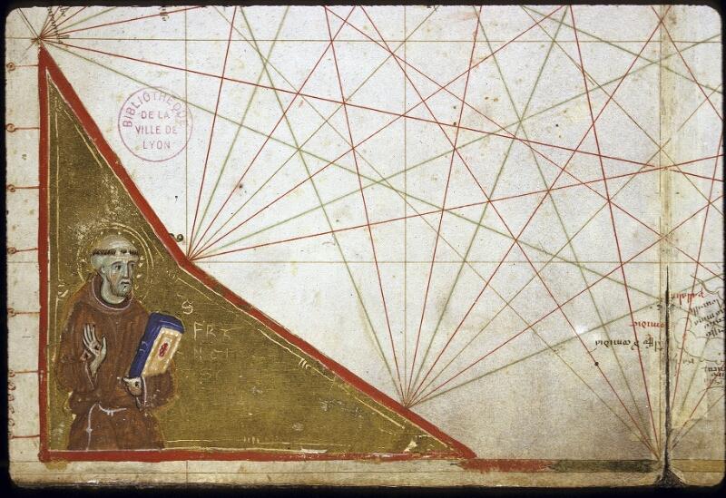 Lyon, Bibl. mun., ms. 0175, carte 4 - vue 3