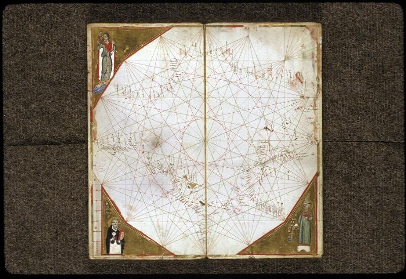 Lyon, Bibl. mun., ms. 0175, carte 5 - vue 1