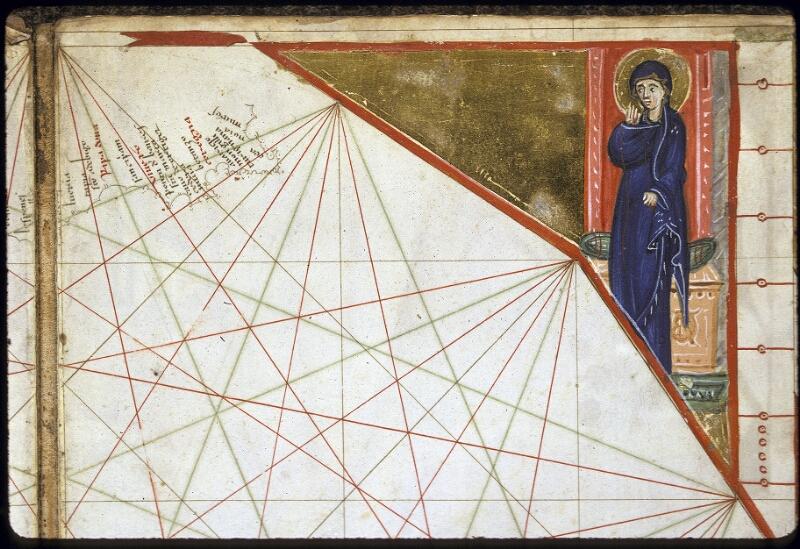Lyon, Bibl. mun., ms. 0175, carte 8 - vue 3