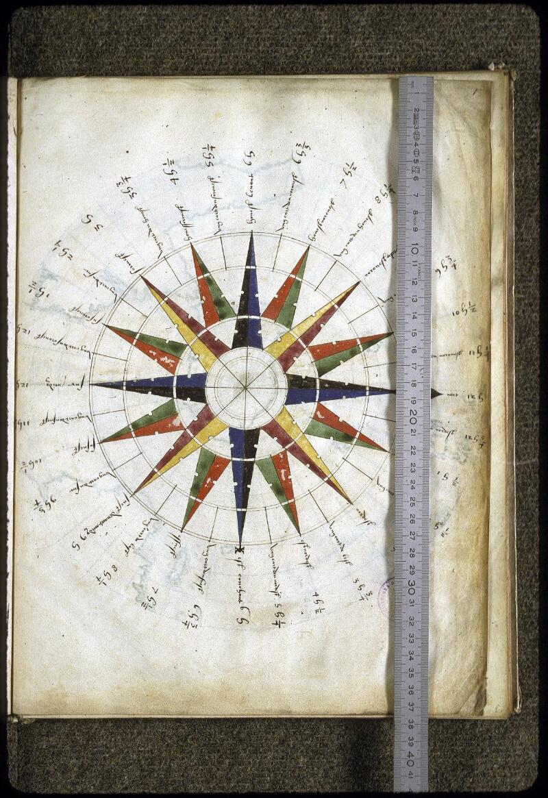 Lyon, Bibl. mun., ms. 0176, f. 001 - vue 2