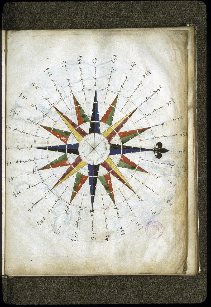 Lyon, Bibl. mun., ms. 0176, f. 001 - vue 3