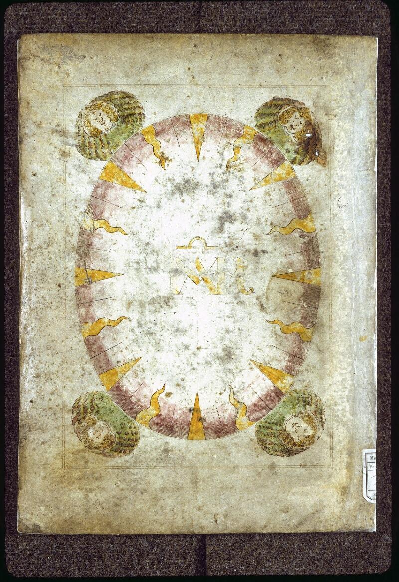 Lyon, Bibl. mun., ms. 0177, reliure plat inf.