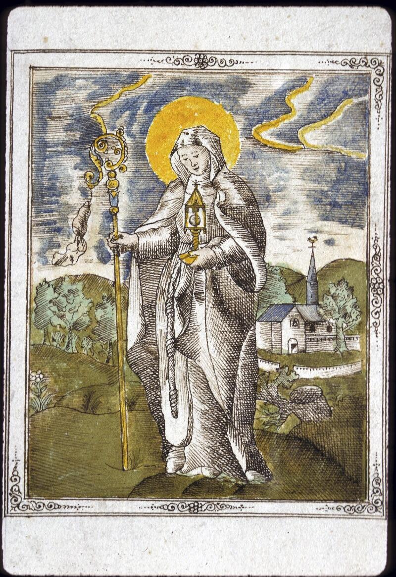 Lyon, Bibl. mun., ms. 0177, f. 001 - vue 3