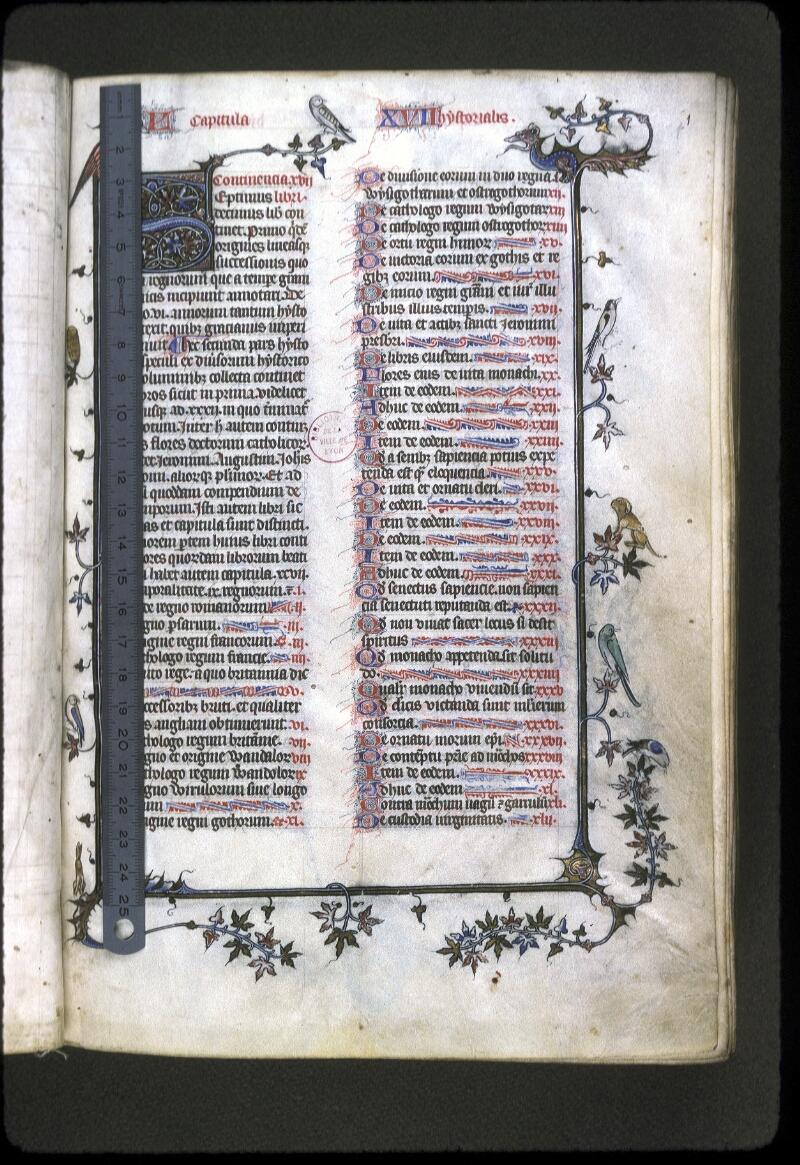 Lyon, Bibl. mun., ms. 0182, f. 001 - vue 1