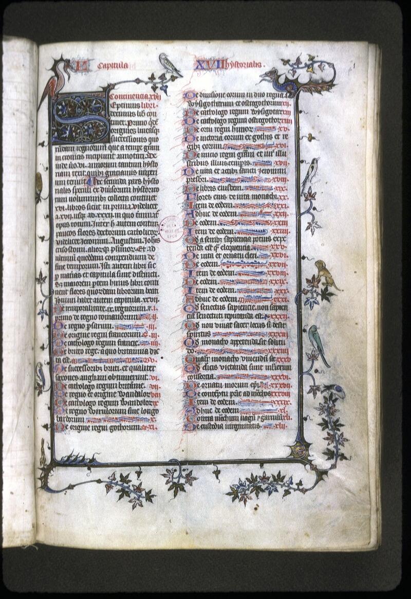 Lyon, Bibl. mun., ms. 0182, f. 001 - vue 2