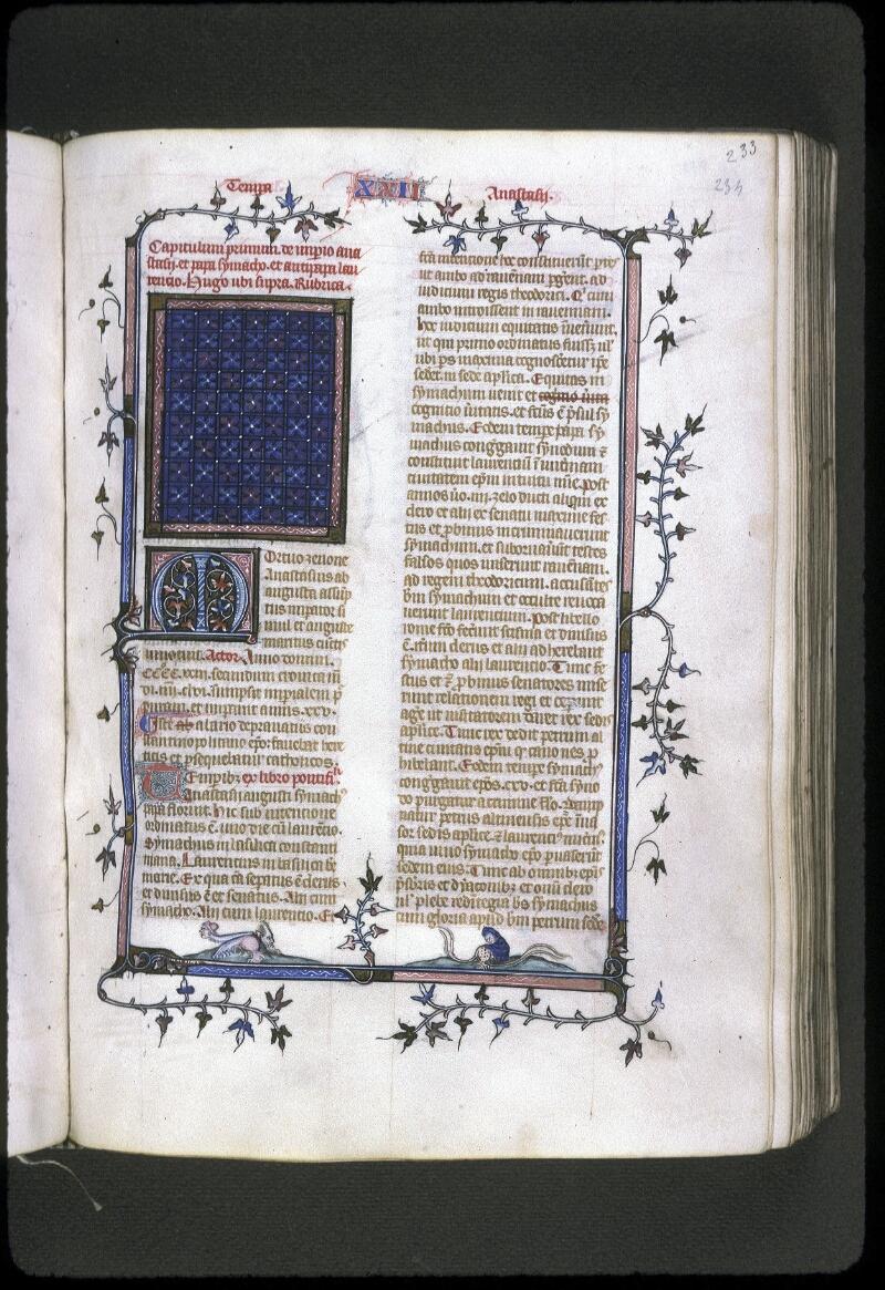 Lyon, Bibl. mun., ms. 0182, f. 233 - vue 1