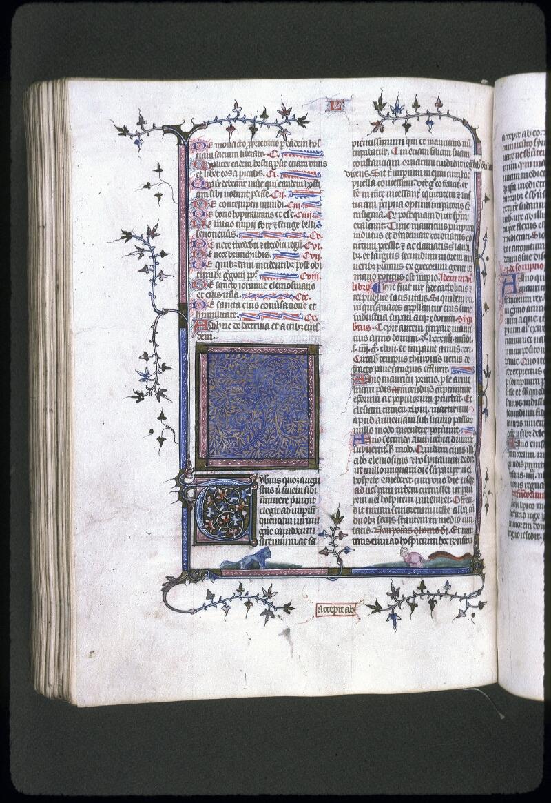 Lyon, Bibl. mun., ms. 0182, f. 281v - vue 1