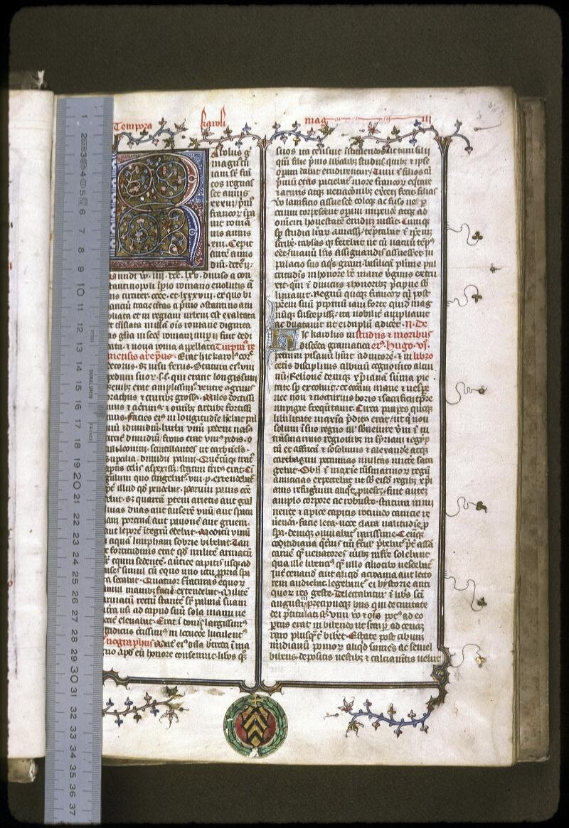 Lyon, Bibl. mun., ms. 0183, f. 003 - vue 1