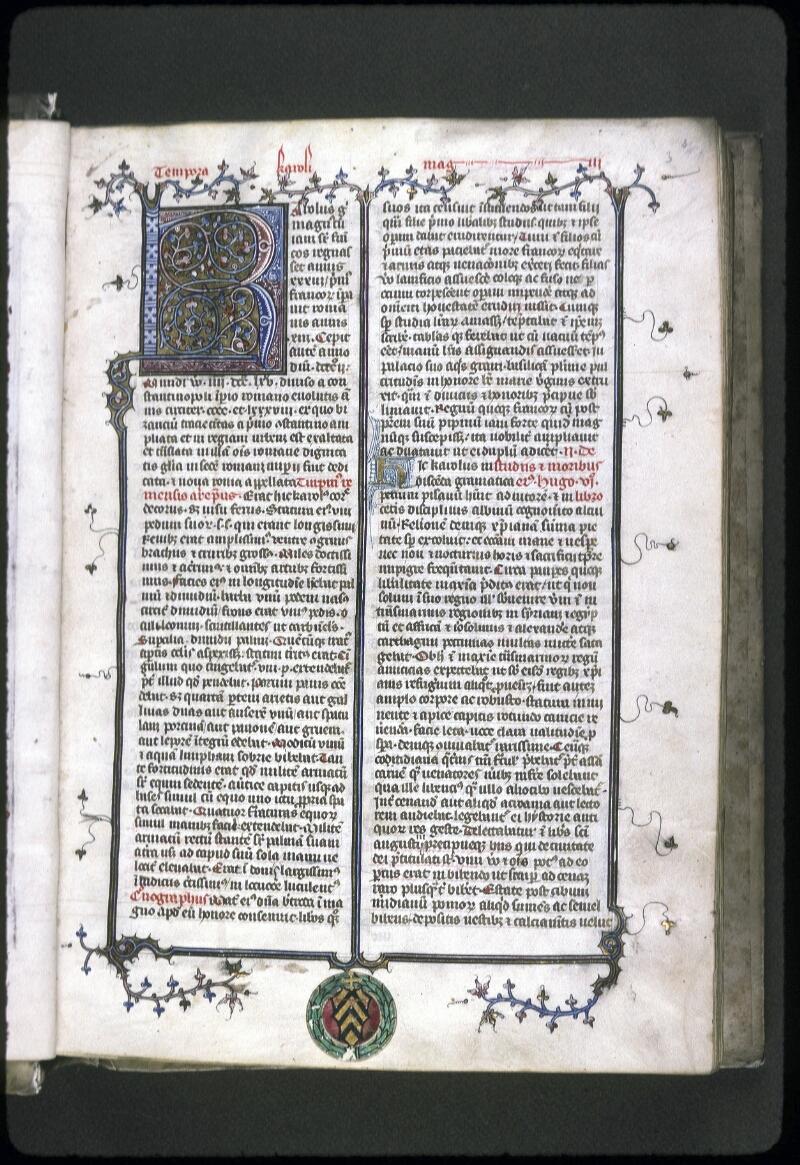 Lyon, Bibl. mun., ms. 0183, f. 003 - vue 2