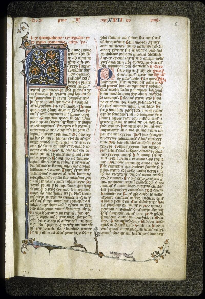 Lyon, Bibl. mun., ms. 0184, f. 005 - vue 2