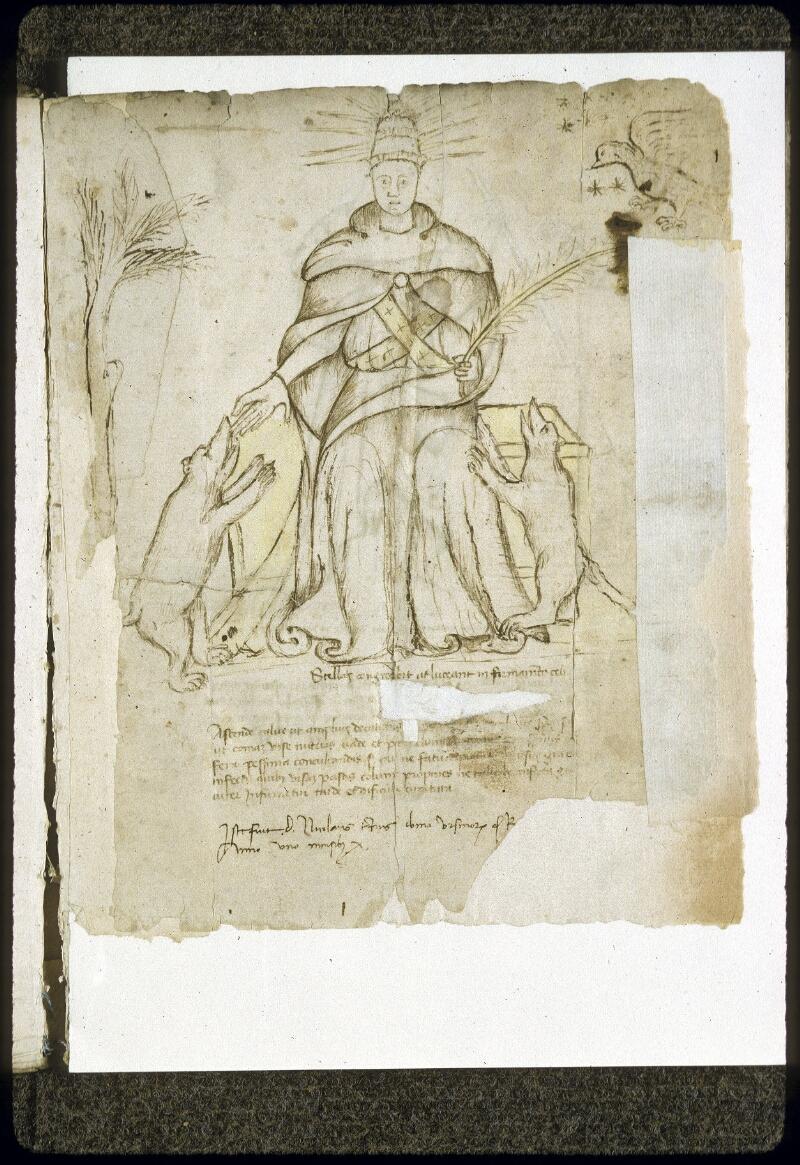 Lyon, Bibl. mun., ms. 0189, f. 001 - vue 2