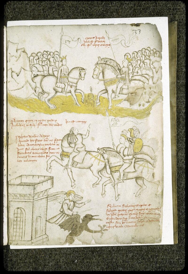 Lyon, Bibl. mun., ms. 0189, f. 033 - vue 1