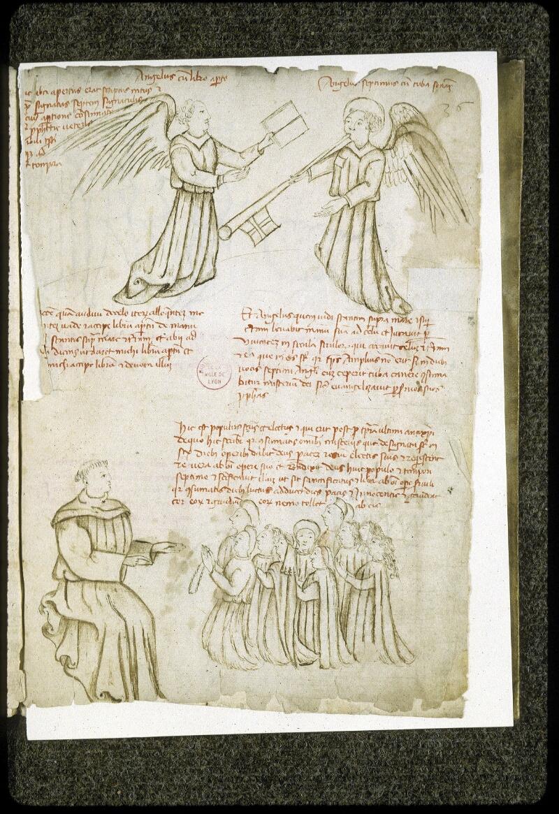 Lyon, Bibl. mun., ms. 0189, f. 036 - vue 1