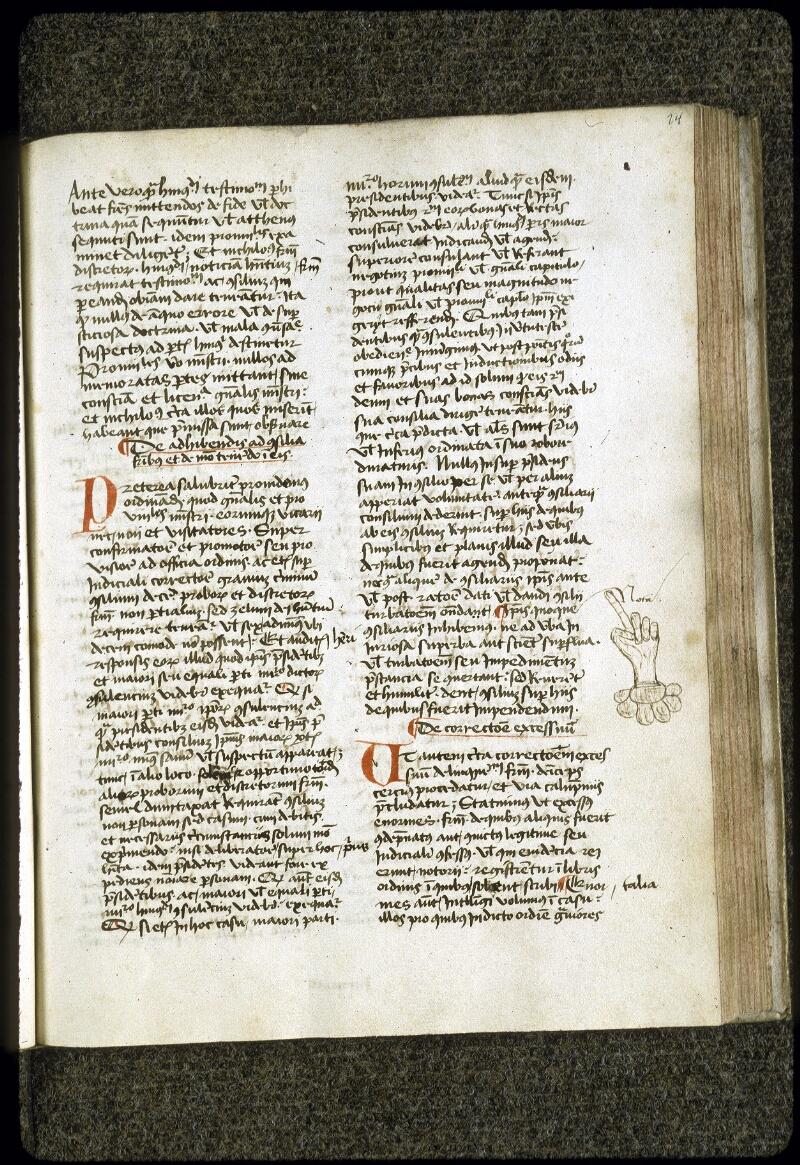 Lyon, Bibl. mun., ms. 0202, f. 024 - vue 2