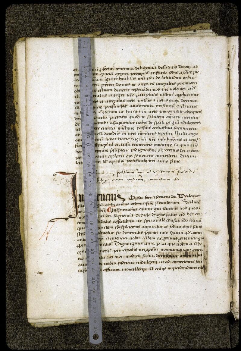 Lyon, Bibl. mun., ms. 0203, f. 011v - vue 1