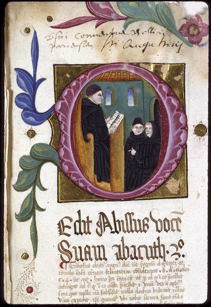 Lyon, Bibl. mun., ms. 0206, f. 001 - vue 3