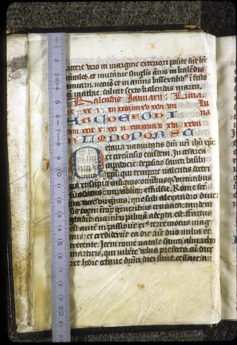 Lyon, Bibl. mun., ms. 0213, f. 005v - vue 1