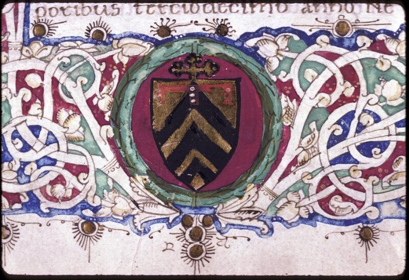 Lyon, Bibl. mun., ms. 0222, f. 001 - vue 3