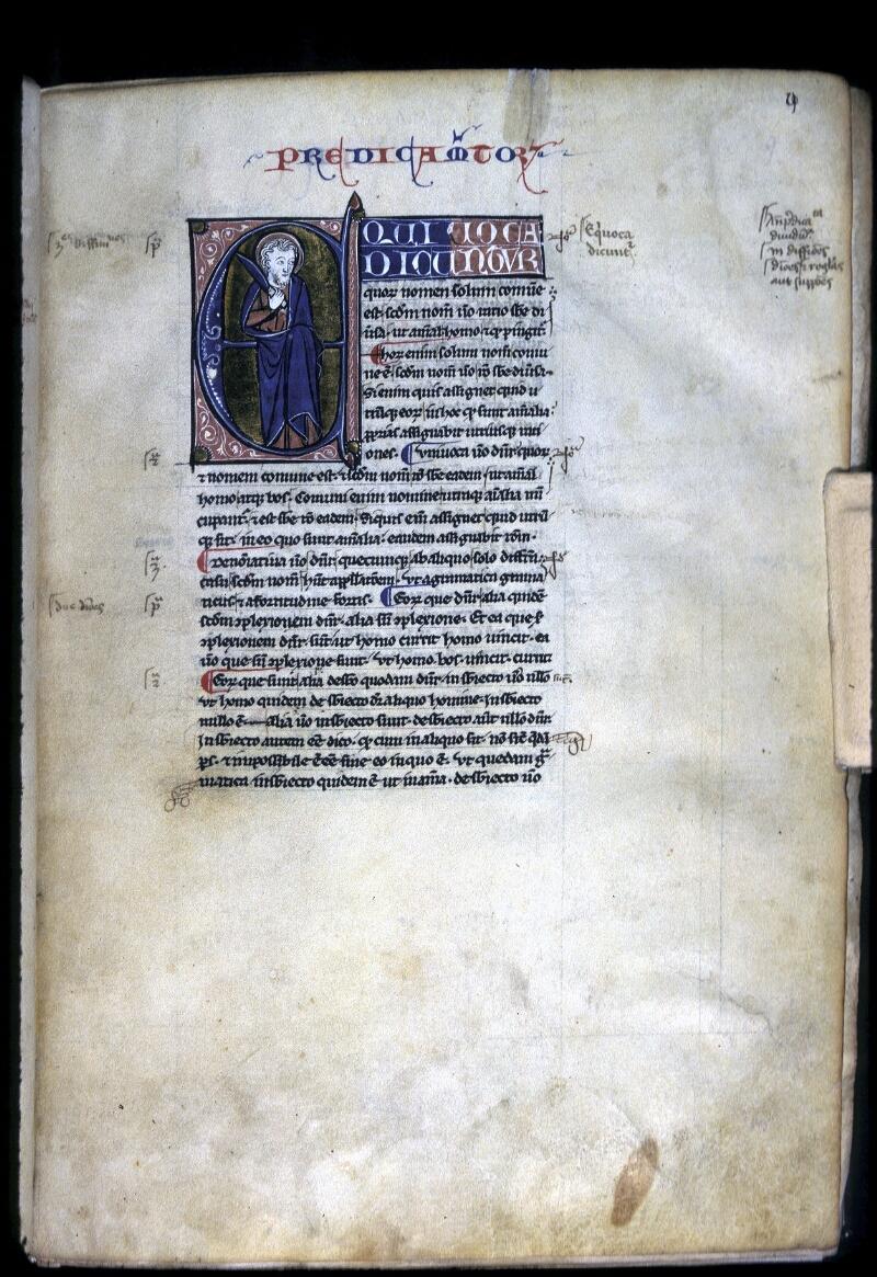 Lyon, Bibl. mun., ms. 0244, f. 009 - vue 1