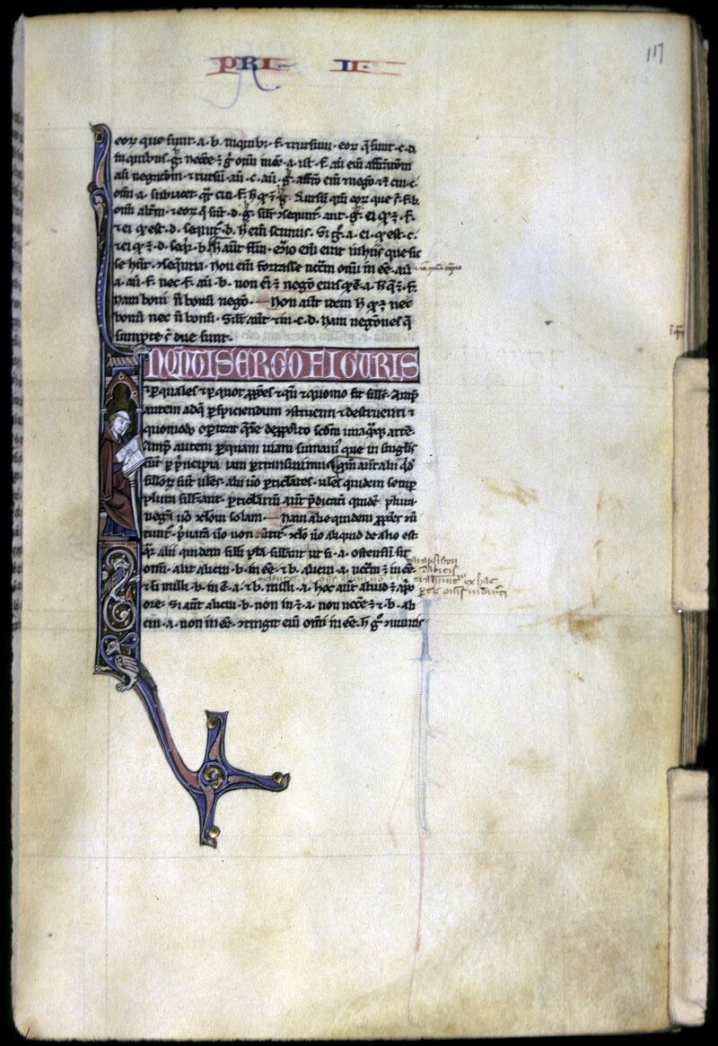 Lyon, Bibl. mun., ms. 0244, f. 117 - vue 1