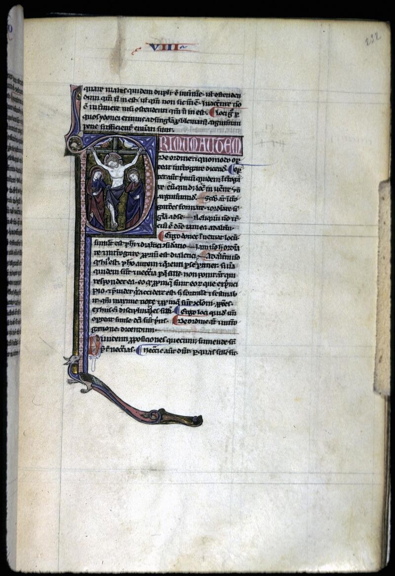 Lyon, Bibl. mun., ms. 0244, f. 232 - vue 1