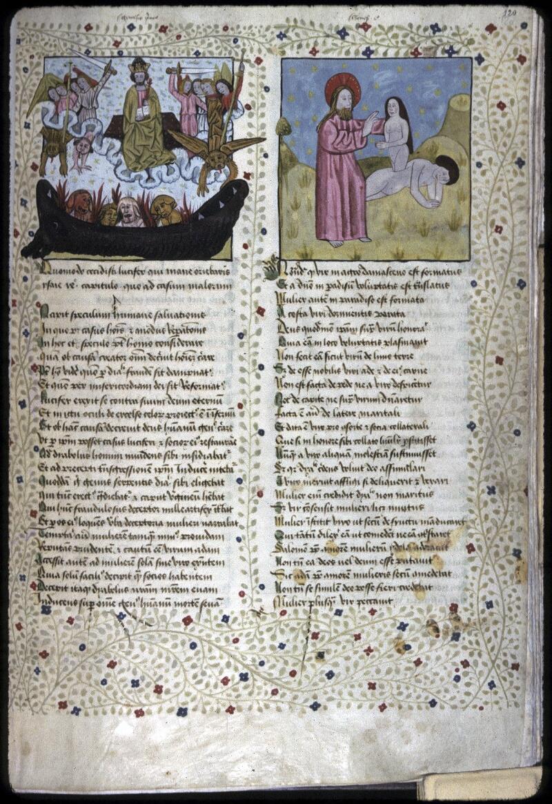 Lyon, Bibl. mun., ms. 0245, f. 120 - vue 1